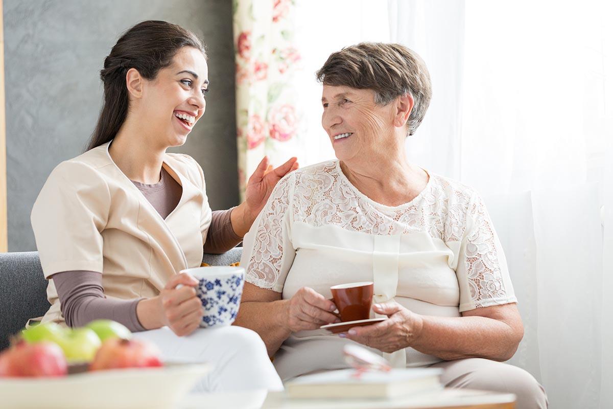Cuidado de personas mayores en Murcia