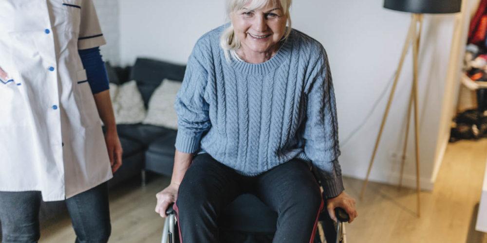 Cuidado de personas mayores a domicilio Barcelona